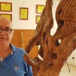 Gaetano Lo Bue mostra le sue sculture al Palazzetto della Cultura a Misilmeri